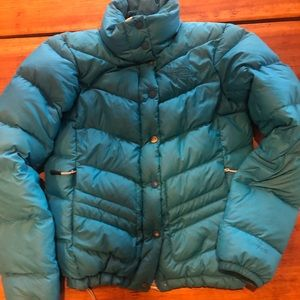 North Face puffer coat